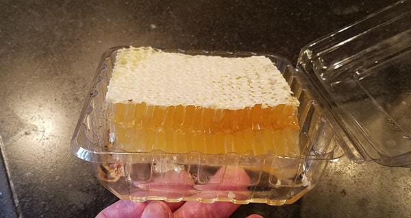 Harvested honeycomb