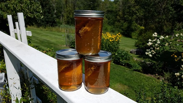3 jars of honey